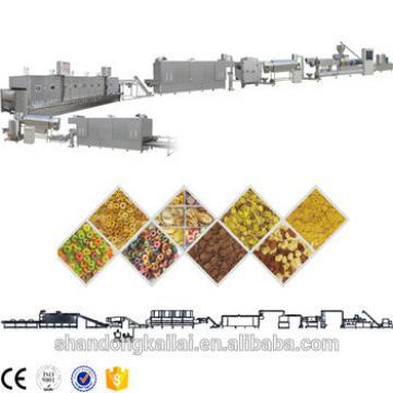 CE Certificate 2018 Hot Sale Industrial Breakfast Cereal Puff Corn Flakes Food Snacks Machines