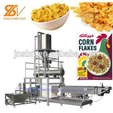 corn flakes and cereal extruder machine