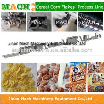 Hot Sale 200-500kg Kellogg Roasted Breakfast Cereal Corn Flakes Snack Food Extruder Machine Production Processing Line
