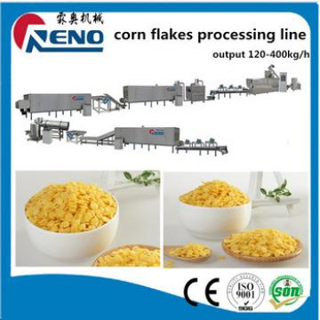 portable Breakfast cereal snacks roasted corn flakes making machine processing line