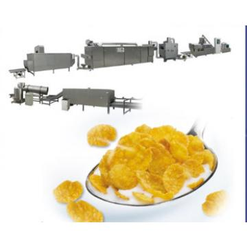 Automatic breakfast cereal cornflakes processing machinery with CE