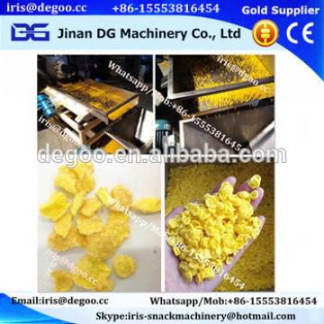 Export full-automatic cheerios weetabix Corn flakes breakfast cereals processing line machine