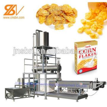 Bulk corn flakes breakfast cereals processing line