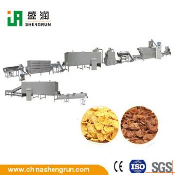 Automatic Grain Corn Flaking Breakfast Cereal Corn Flakes Production Line Machine