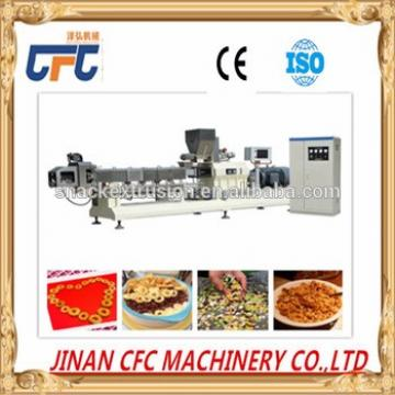 Healthy life cereals press machine/breakfast cereals processing line