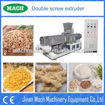 PLC controlled automatic expanded nestle corn flakes machine