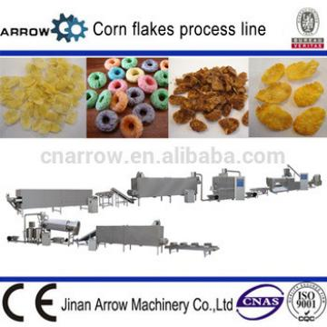200kg/h Honey Breakfast Cereals Corn Flakes Machine