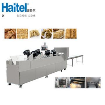 Automatic Energy Fruit Grain Granola Cereal Bar Cutting Machine