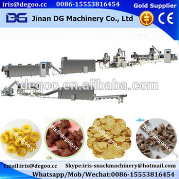 Corn flakes chocolate cereal ball making line Jinan DG machinery