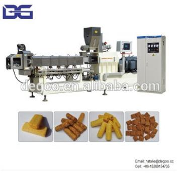 Core filled extrusion snacks corn snacks making machine