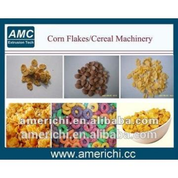 Auto extruded cereal puffing machine