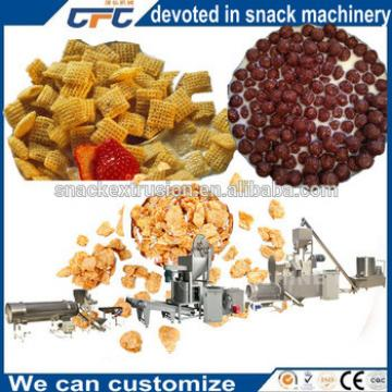 Puff Food Small Corn Flakes Making Machine