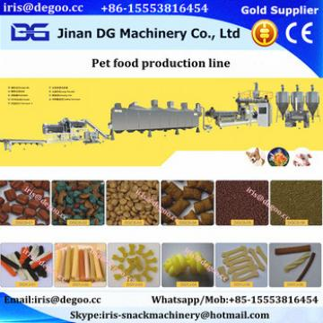 Animal feed dog chews snack food extruder machine/production line Jinan DG