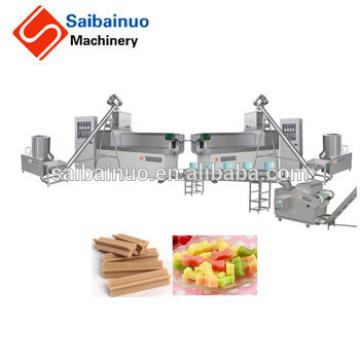 Hot selling low energy consumption Dog chewing food making machine