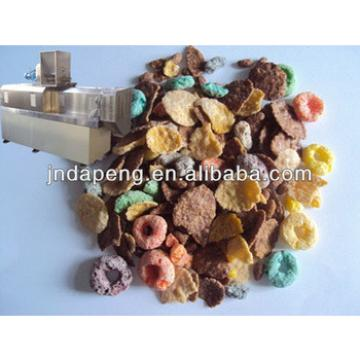Cereals corn flakes machine