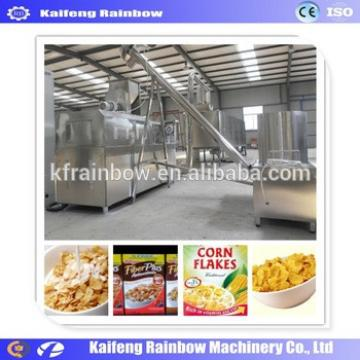 Electrical Manufacture Corn Flake Extruding Machine c Cereal Breakfast Corn Flakes Snack Food Making Machine