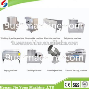 Hot sale automatic stainless steel automatic potato chips making machines