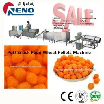 small scale breakfast cereal puffed corn snacks processing line