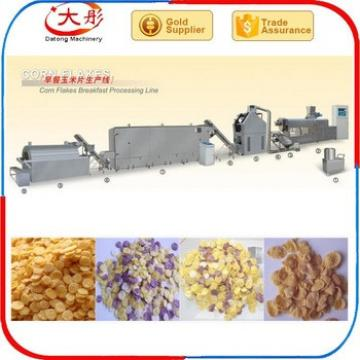 Hot sale corn flakes breakfast cereal making equipment