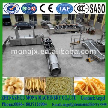 China Hot Sale Potato Chips Maker Machines/semi automatic frozen potato chips making plant/french fries for potato chips