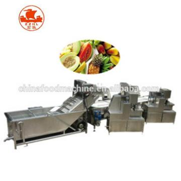 China cheap complete automatic freeze potato chips making machine