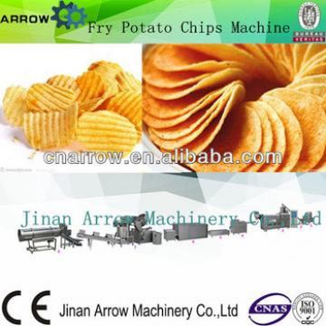 Mix Extrude Shape Fry Flavor potato chips making machinery