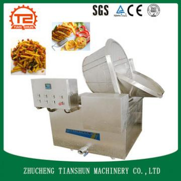 potato chips making machine and frying machine for fried chicken