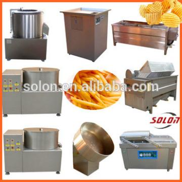 Zhengzhou Solon high quality and best price semi-automatic potato chips making machine suppliers / manufactures / exporters