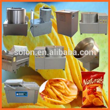 Zhengzhou Solon high quality and best price indian potato chips making machine suppliers / manufactures / exporters