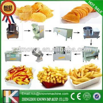 semi-auto potato flakes potato flakes production line photo chips making machine