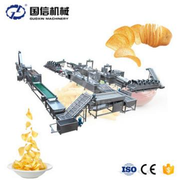 Hot sale automatic Fresh potato chips French fries making machine / Potato french fries