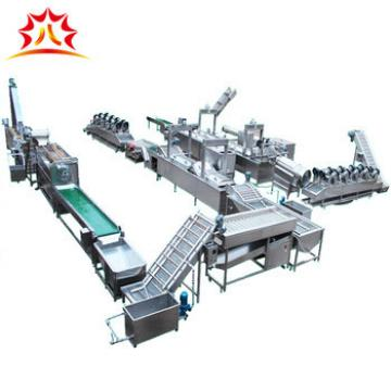 widely used full automatic banana onion frozen potato chips making machines french fries processing plant in alibaba