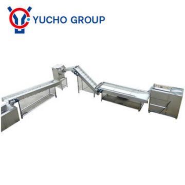 automatic potato chips making machine / potato chips plant cost