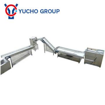 banana chips making machine / potato chips manufacturing process