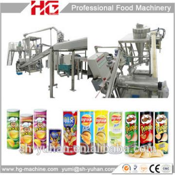 China high capacity Pringles potato chips making machine