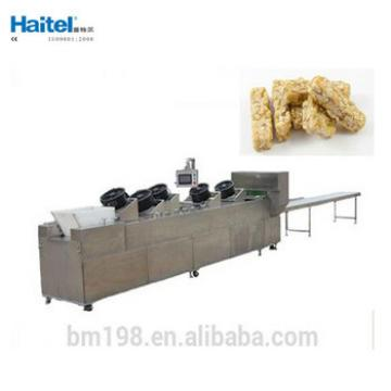 Small Granola Peanut Candy bar Making Machine Production Line