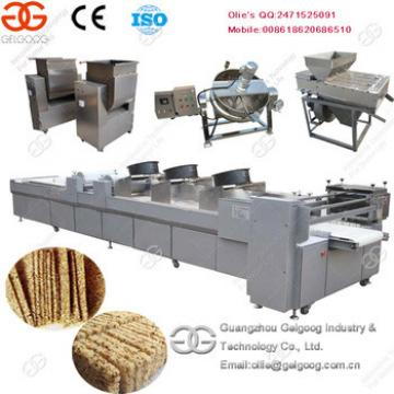 Hot Sale Top Quality Peanut Brittle Granola Stick Making Machine Chocolate Cereal Bar Production Line