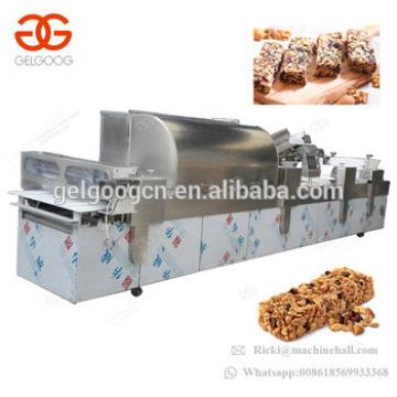 Automatic Energy Bar Extruder Peanut Candy Maker Cereal Bar Cutting Machine