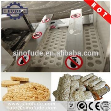 Snack Food Cereal Granola Bar Making machine / rice bar machine