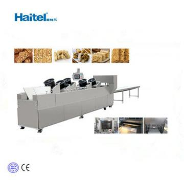 2018 new condition automatic small granola bar making machine/production line