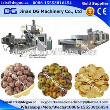 Jinan DG puffed coco ring shell production plant from Jinan DG machinery company