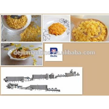 stainless steel breakfast cereals snacks processing machine