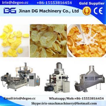 healthy food corn flakes machine/corn chips making machine Jinan DG