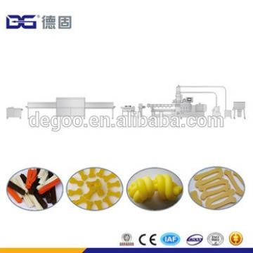 CE Certificate DG75-II Dental Kibble Pet Dog Chew Treats Twist Stick Food Extrusion Machine Production Line From Jinan DG