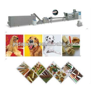 pet dog chews food processing line/dog treats making machine/processing line/dry dog food production line