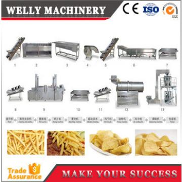chips machines potato chips making/ french fries equipment/ frozen french fries