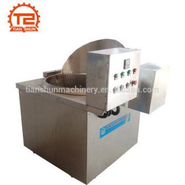 Deep frying machine and sweet potato chips making machine
