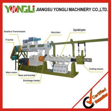 Reasonable structure Save Energy animal feed extruder machine
