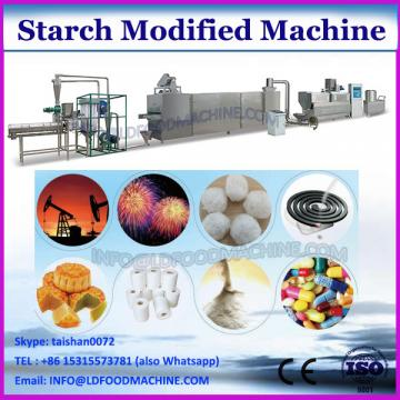 Pregelatinized modified starch line for food/textile/paper applications