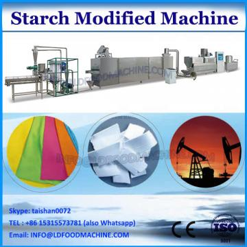 Corn starch adhesive powder for textile paper core